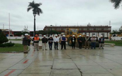 Hoy se inicia trabajos de Plaza de Armas de Trujillo
