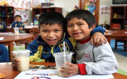 Plan Qali Warma realizará semana de la Nutrición
