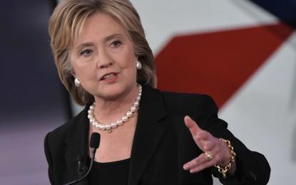 Clinton apunta a consagrar su candidatura en últimas primarias