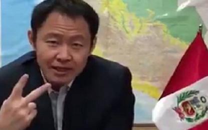 """Kenji Fujimori: """"Mi bancada me quiere disolver"""""""