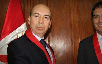 Oscar Alarcón es elegido presidente de la Corte Superior de Justicia de La Libertad