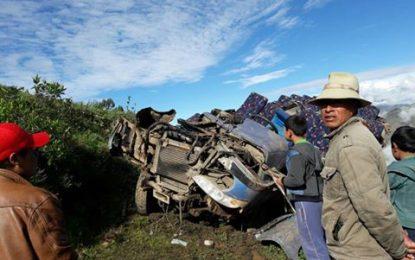 TRÁGICO ACCIDENTE EN CALAMARCA – JULCÁN.