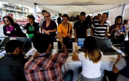Venezuela: Comenzó validación de firmas para referendo revocatorio contra Nicolás Maduro