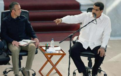 Nicolás Maduro exige disculpas a EE.UU. para vicepresidente venezolano
