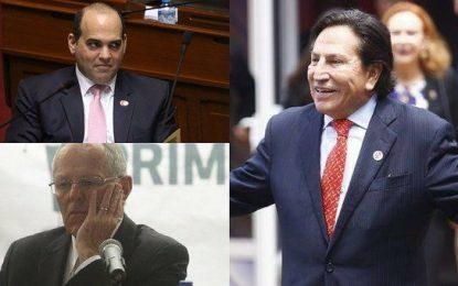 Alejandro Toledo pide citar a PPK y Zavala ante la Fiscalía por Interoceánica Sur