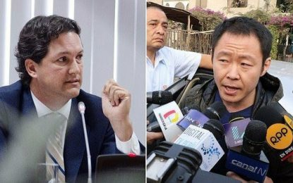 Daniel Salaverry reta a Kenji Fujimori a formar su propio partido político