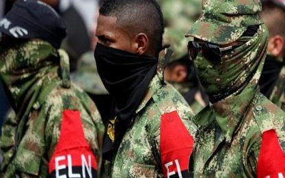 Colombia: fueron capturados cinco presuntos guerrilleros del ELN