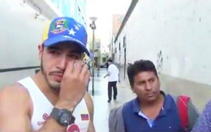 Facebook: denuncian maltrato a venezolano que vendía arepas en Huacho
