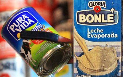 Pura Vida y Bonlé aún se sirven en programa Vaso de Leche