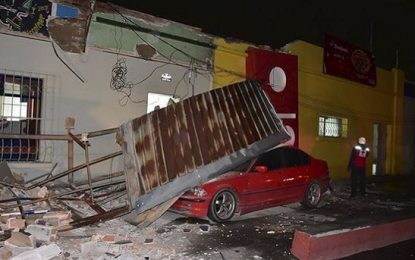 Terremoto de 6,9 grados en México y Guatemala deja al menos 2 muertos