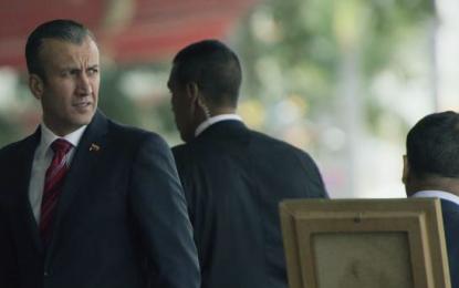 EE.UU. sanciona al vicepresidente de Venezuela por estar ligado al narcotráfico