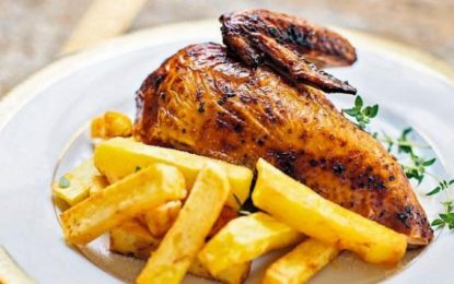 Trujillanos se suman a la celebración del Día del Pollo a la Brasa