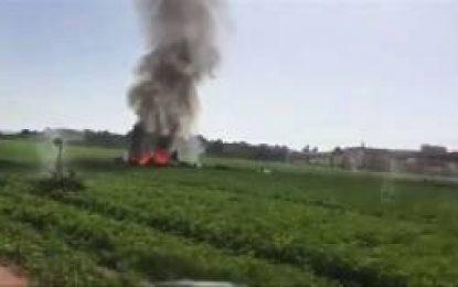 Se estrella avión de combate tras desfile militar