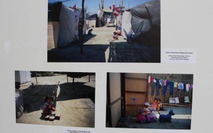 Esta muestra reúne la mirada de menores damnificados por El Niño