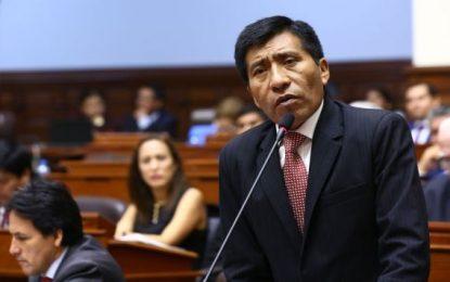 Fujimorista Moisés Mamani pidió reprogramar cita en la Fiscalía