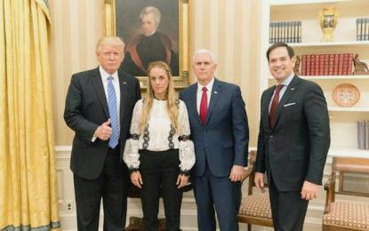 Donald Trump pidió a Venezuela liberar al líder opositor Leopoldo LópezD
