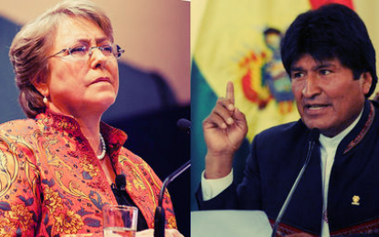 Evo tilda a Chile de rencoroso por quitarle la visa diplomática