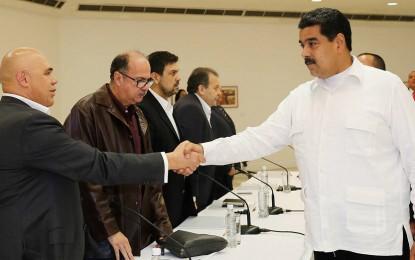 Venezuela: Chavismo evalúa relanzar el diálogo con la oposición