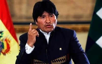 Evo Morales anunció que se presentará una contrademanda ante La Haya