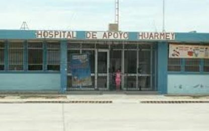 Huarmey: Instalan hospital para ayudar a damnificados