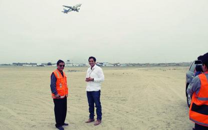 Llegan especialistas para monitorear ampliación del aeropuerto de Huanchaco