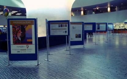Se inaugura muestra de arte de Serge Raynaud de la Ferrière en Trujillo