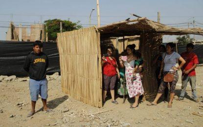 Familias invaden terreno destinado a una posta médica