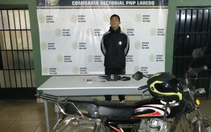 LE ROBAN MOTO A TRABAJADOR DE MOVISTAR EN LAREDO