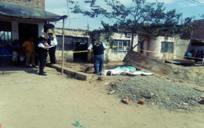 Asesinan a zapatero en el distrito El Porvenir