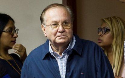 Luis Nava Guibert es trasladado de clínica a la carceleta del Inpe