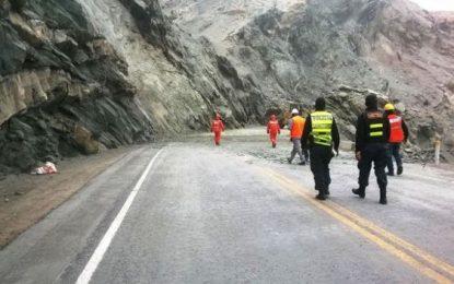 Arequipa: abren el tránsito en el kilómetro 731 de la Panamericana Sur