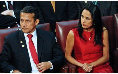 Congresistas piden la prisión preventiva para Ollanta Humala y Nadine Heredia