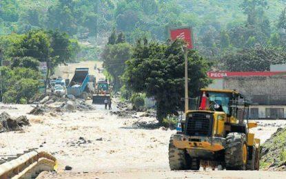 Carretera Central: Incumplimiento de restricciones