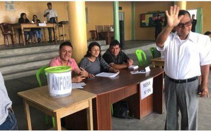 Centro Poblado Luz del Sol elige a su alcalde