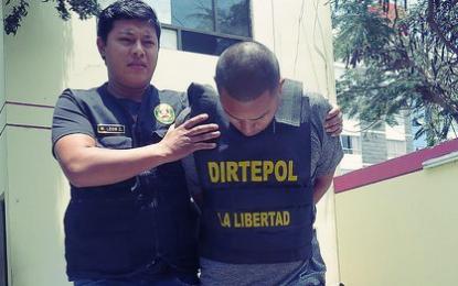 """Trujillo: """"Chileno"""" es detenido con 2,5 kg. de marihuana"""