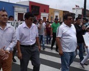 Con movilización pobladores de Guadalupito y Virú piden no anular elecciones