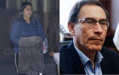 Encuentran documentación sobre Martín Vizcarra en casa allanada de secretaria de Keiko Fujimori