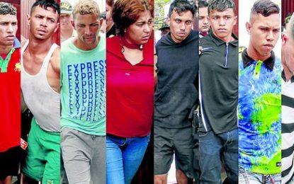 Frustran asalto y cae banda de venezolanos