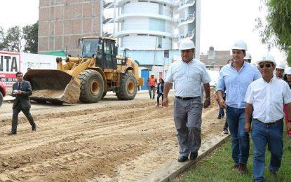 GRLL anuncia ejecución de obras de la reconstrucción en Trujillo