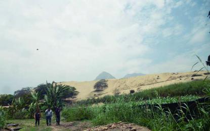 Pretenden desaparecer histórica huaca San Pachuzco en Laredo