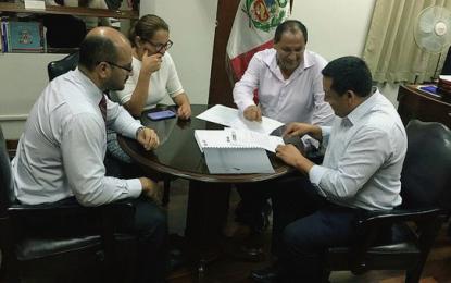 Presentan avance de expediente sobre la creación del distrito de El Milagro