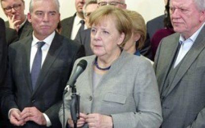 """Alemania: """"Merkel en crisis tras fracaso de intentos para formar gobierno""""."""