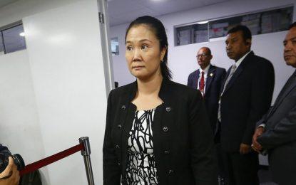 Keiko Fujimori acude a la Corte Suprema para continuar proceso en libertad
