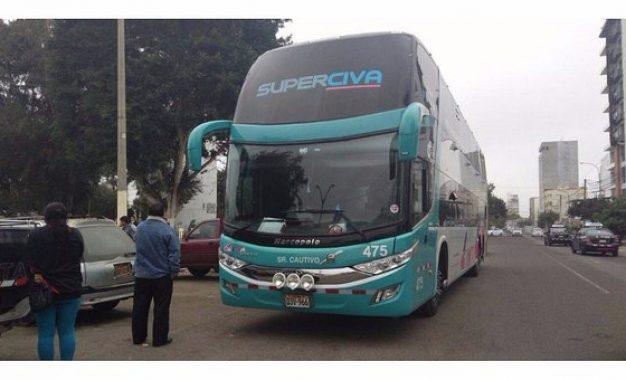 La Libertad: Hampones armados desvalijan a 40 pasajeros de bus