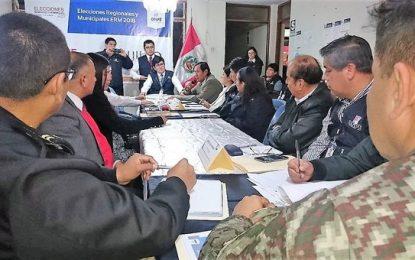 Mañana llega a Trujillo el material para elecciones del 7 de octubre