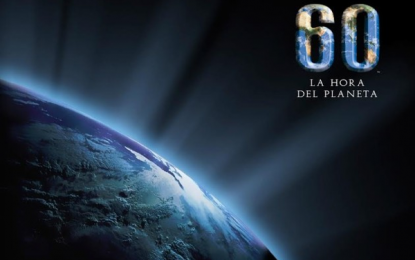 """Apaguemos las luces: Hoy sábado es """"La hora del planeta"""""""