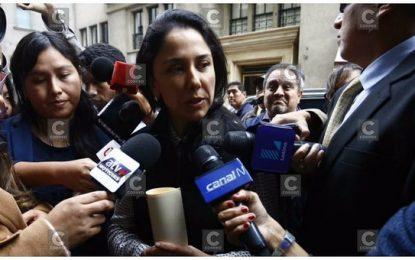 Nadine Heredia arremete contra fiscal y afirma que quieren escogerle un abogado