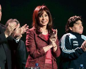 """Cristina niega sobornos en escándalo """"FIFAgate"""""""
