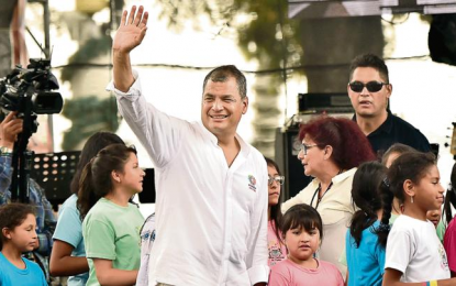 Correa regresa a Ecuador para desafiar liderazgo de Lenín Moreno