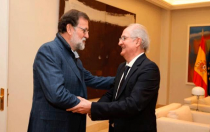 Mariano Rajoy se reunió con Antonio Ledezma en España